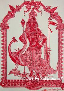 The Hindu God of youth: Murugan
