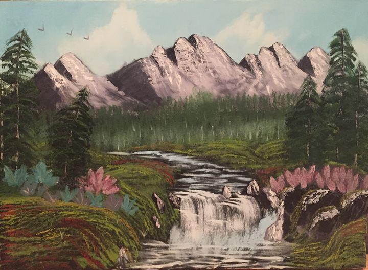 waterfalls - Rim Dhouib