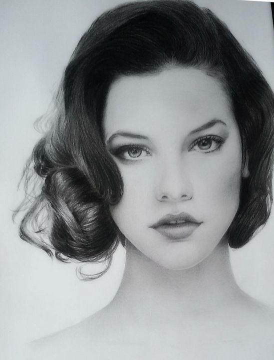 Graphite,barbarapalvin,portrait -  Nickicha3