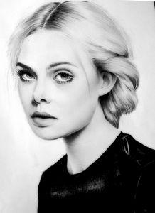 Portrait,pencil,painting graphite