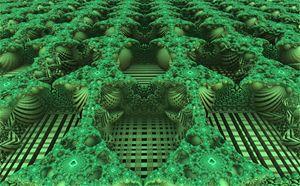 Deep Green Landscape