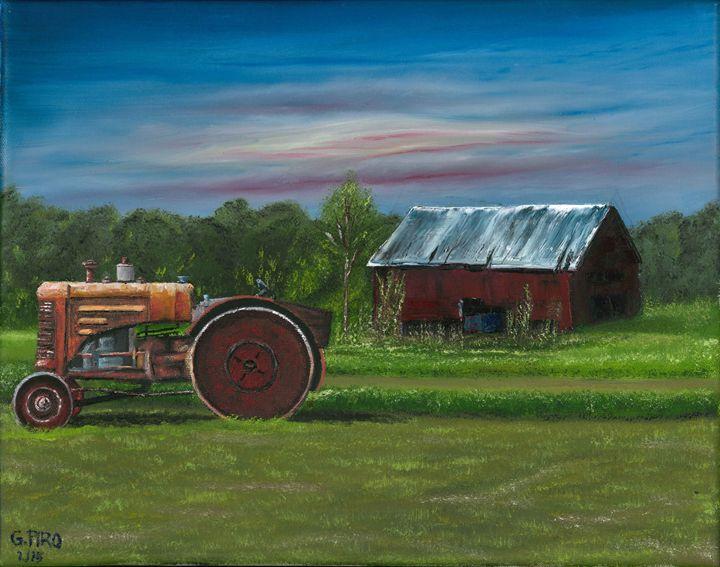 Farmer's Sunrise - G.V.Piro
