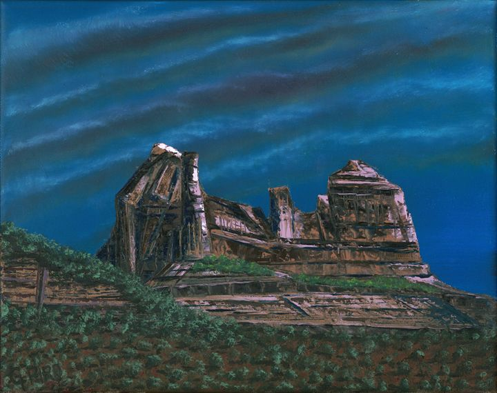 Majestic Rocks of Sedona - G.V.Piro