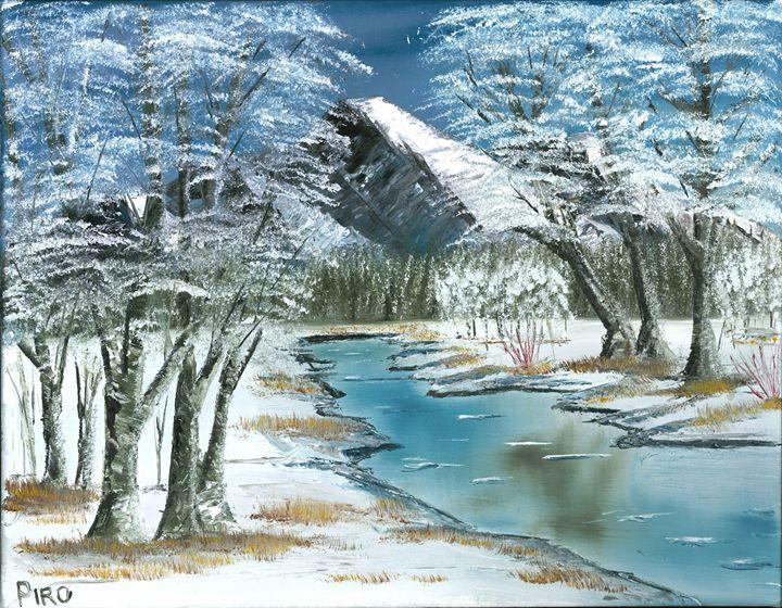 Winter Stream - G.V.Piro