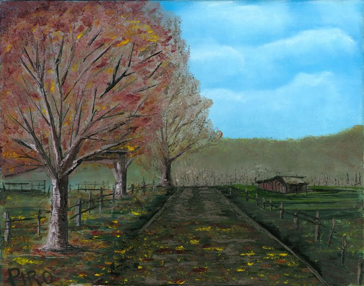Autumn Path - G.V.Piro