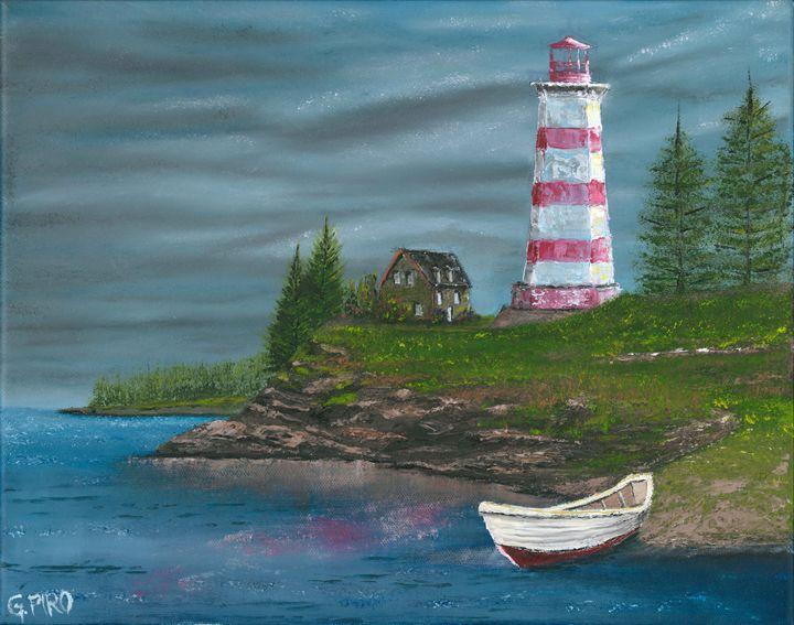 Seaside Lighthouse - G.V.Piro
