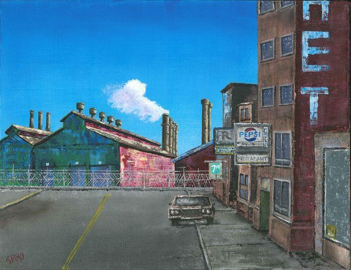 Steel Mill Town - G.V.Piro