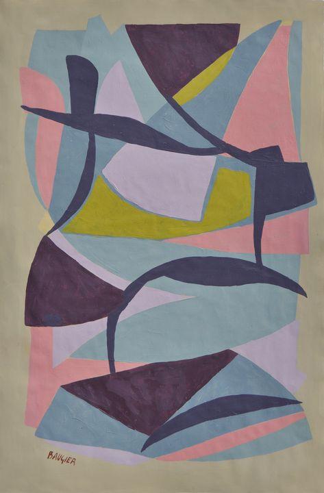 composition N°1230 - Galerie BAUGIER