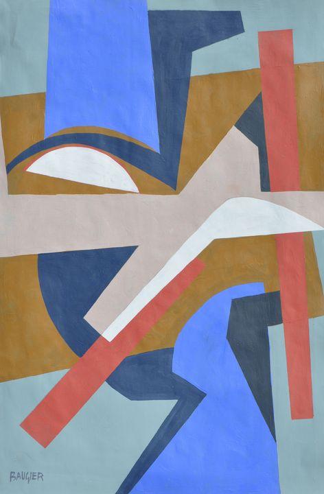 composition N°1233 - Galerie BAUGIER