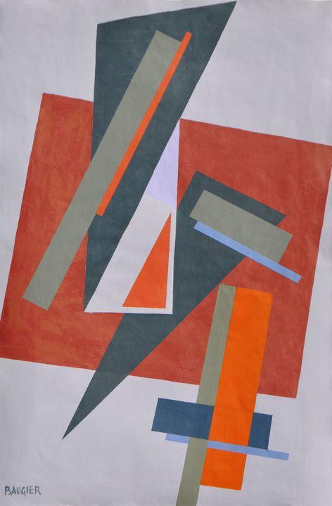 composition N°1234 - Galerie BAUGIER