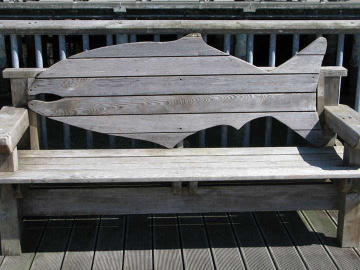 Bench on a Pier - Chris Crooks Photography