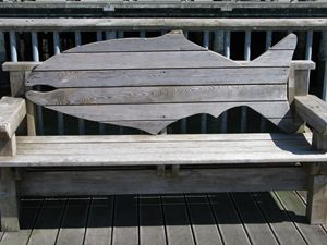 Bench on a Pier
