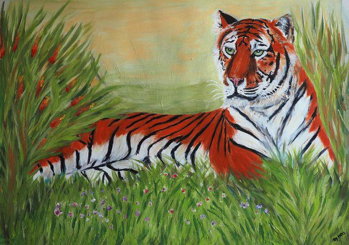Amur tiger - By Mris
