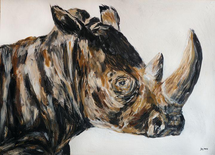 White rhino - By Mris