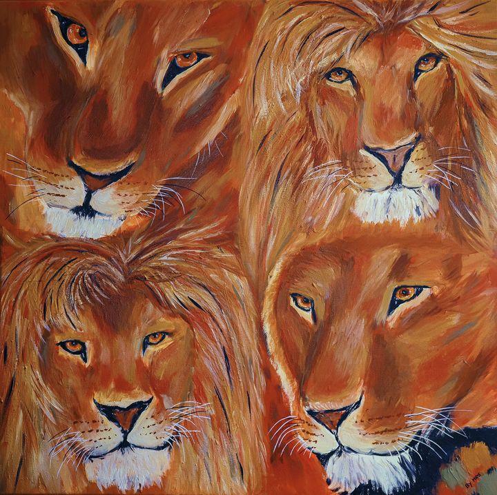 Lion siblings - By Mris