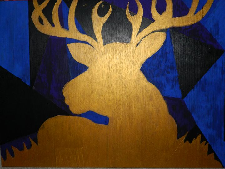 Abstract Deer - Jess