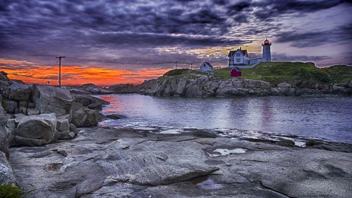 Nubble Lighthouse, Maine - StevenRalserPhoto