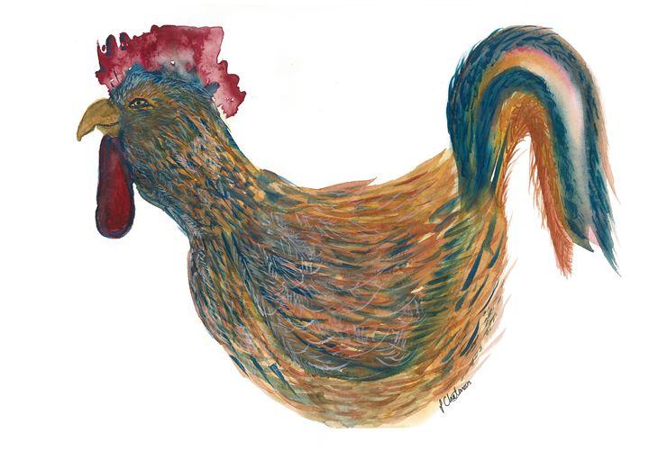 Rooster - Art philosophy