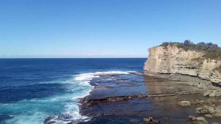 Terrigal, NSW, Australia, Cliff Face - Art philosophy