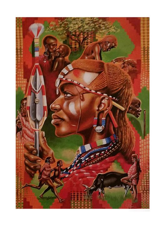 Maasai Warrior - Donnie Pope Images