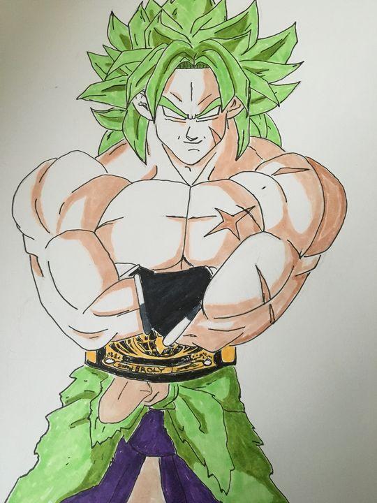 Undisputed Saiyan Champion - Vaughn Resper Jr