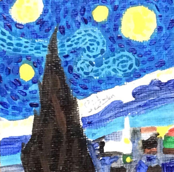 Starry Night Replica - Sid