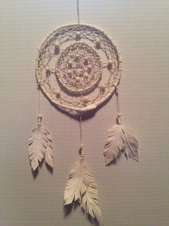 Ivory Handcrafted Dreamcatcher - CMY Design