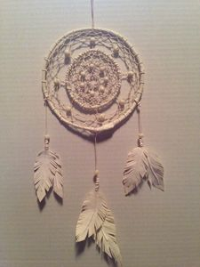 Ivory Handcrafted Dreamcatcher
