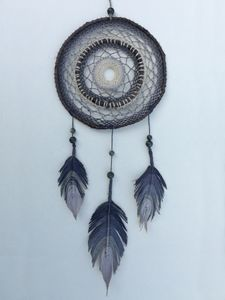 Grey Handcrafted Dreamcatcher