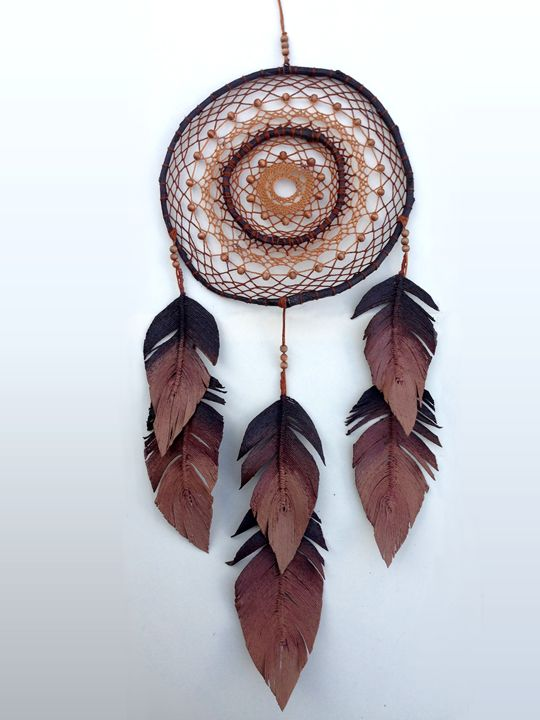 Auburn Handcrafted Dreamcatcher - CMY Design