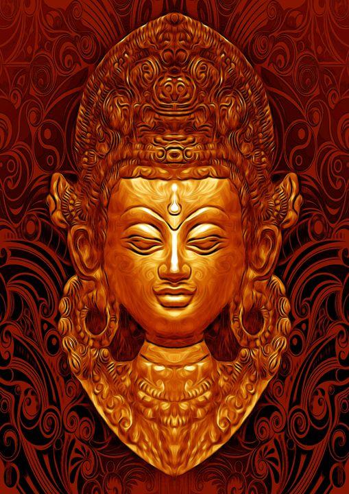 Tara - peiman miral - Digital Art, Religion, Philosophy, & Astrology