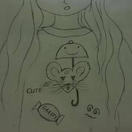 greedy mouse - kana