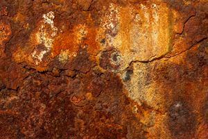 Rusty old wall