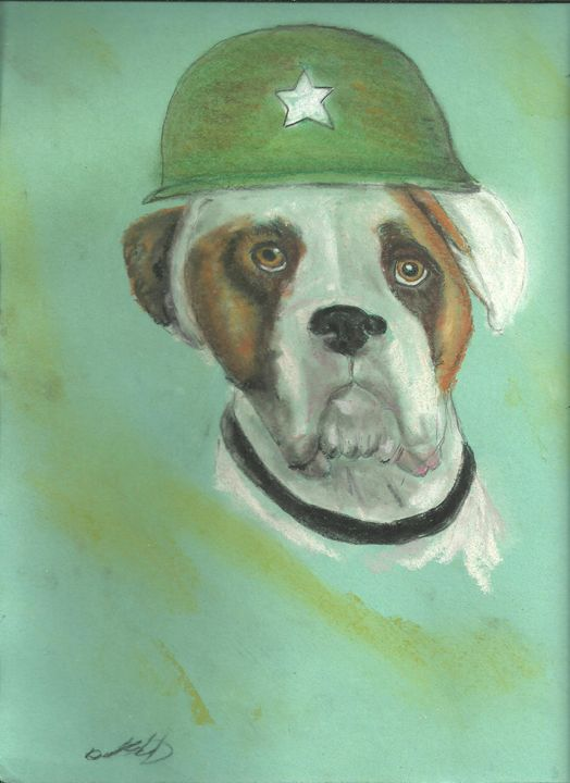 General Bull Dog - DavesArtbiz