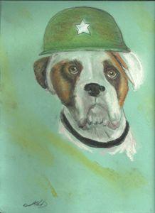 General Bull Dog - DavesArtbiz