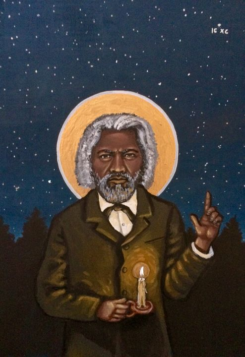 Frederick Douglass - Kelly Latimore Icons