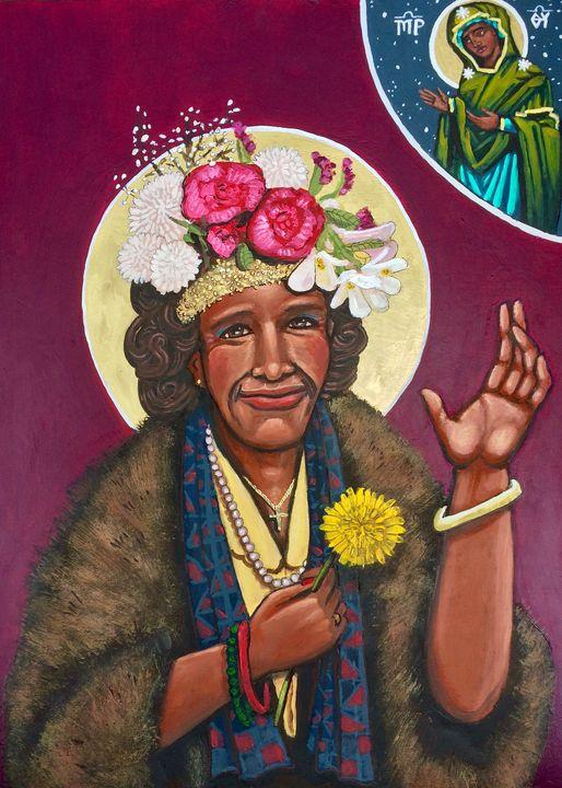 Marsha P. Johnson - Kelly Latimore Icons