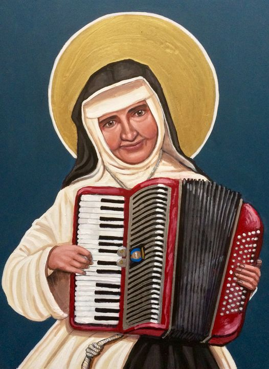 St. Dulce of the Poor - Kelly Latimore Icons