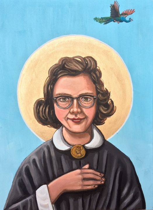 Flannery O'Connor - Kelly Latimore Icons