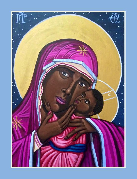 Mother of God: Mother of the Streets - Kelly Latimore Icons