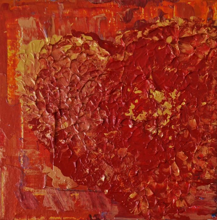 Red Mood - Monica Jansen
