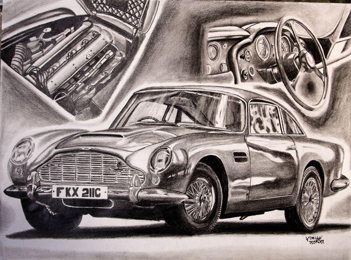 Aston Martin DB5 GraphiteDVs wing - Adrian Bordei
