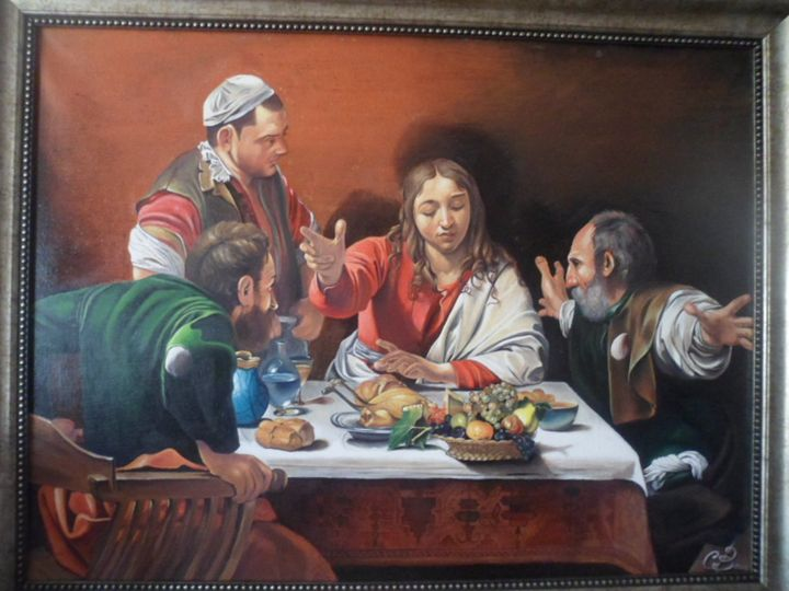 Supper at Emmaus - Slavko Vukcevic