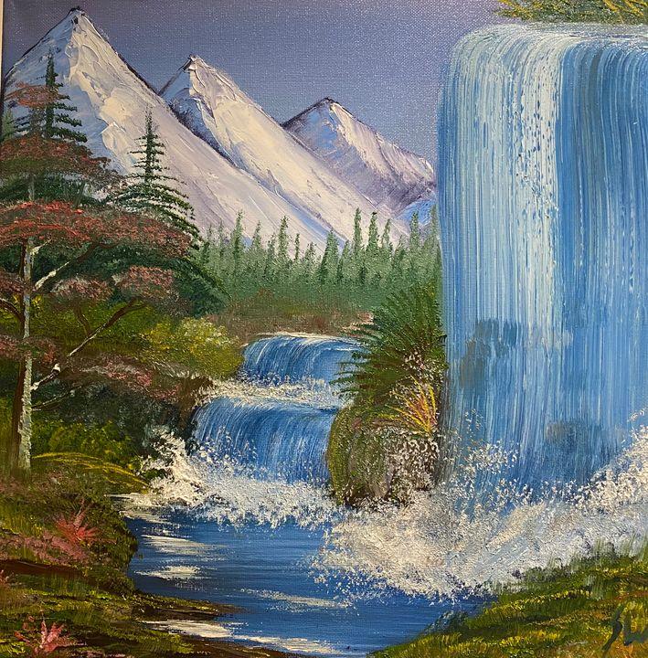 Waterfall heaven - Stephen windebank