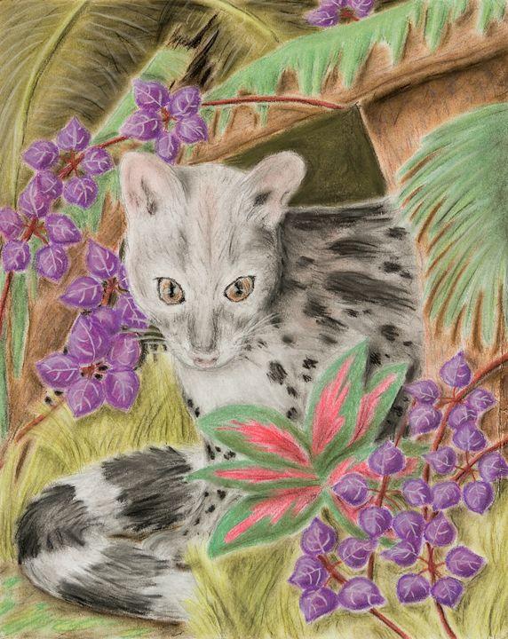 Genet Cat - JK Art Life