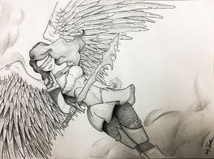 Angelic Heroine - Lydiksen Artistry