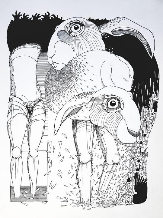 Those who walked away - Godpipo - art & drawings