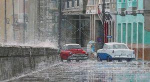 """White Water Wall"" - Dwight Baird"