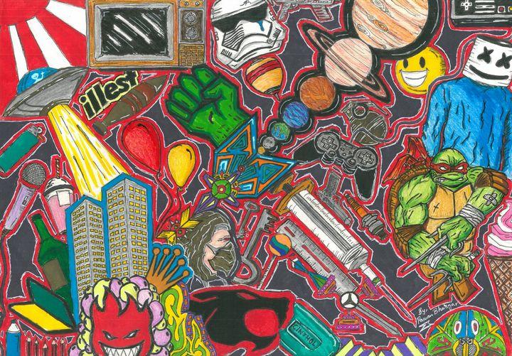 21st Century Chaos - Encript Art