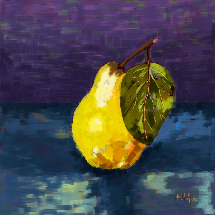 Yellow Pear - Ronel Lafleur